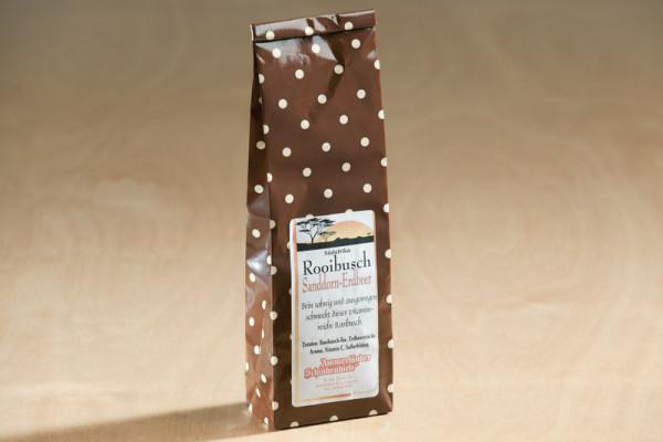 Rooibusch Sanddorn-Erdbeer Tee