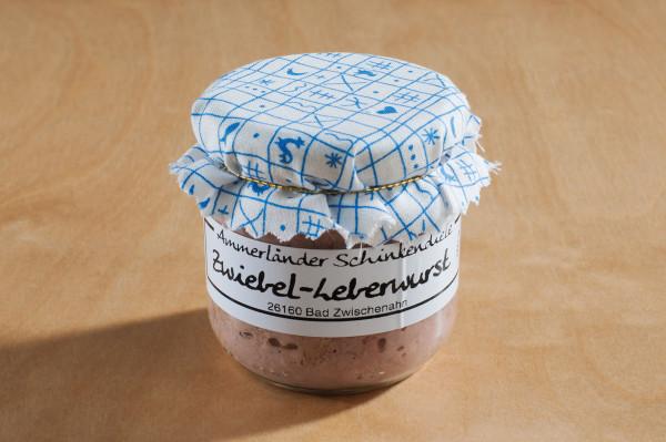 Zwiebelleberwurst im Glas | 160g