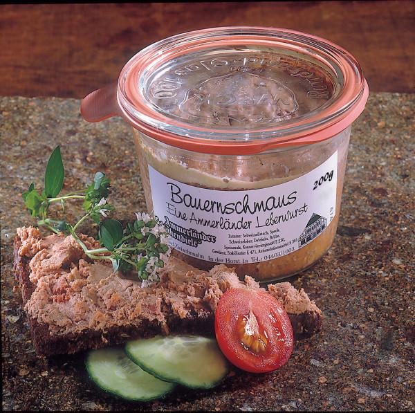 Bauernschmaus Leberwurst im Weckglas | 200g