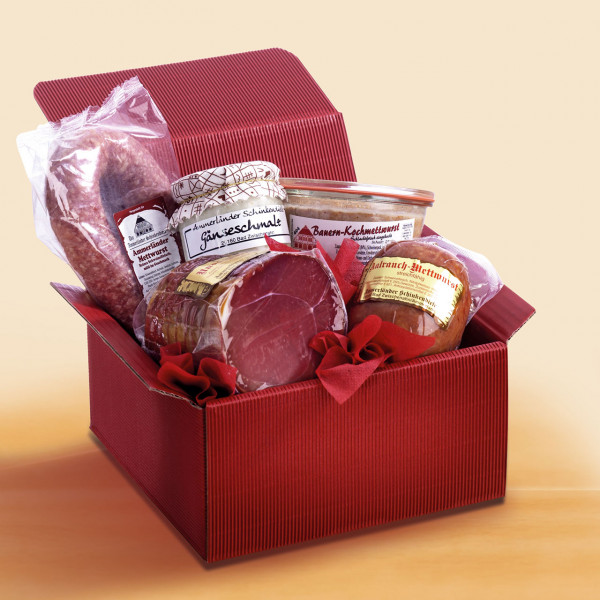 Herzhafte Geschenkbox Genuss-Würfel Nr.43