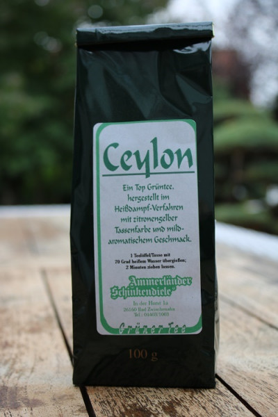 Ceylon Hochland Grüntee