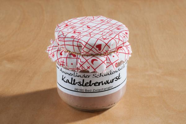 Leckere Kalbsleberwurst im Glas | 160g