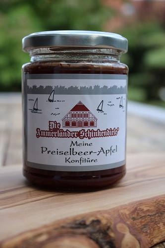 Meine Preiselbeer-Apfel Konfitüre 250g