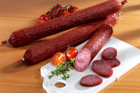 Leckere Kutscherwurst Salami | Stück ca. 280g