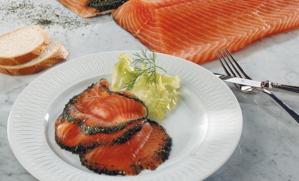 Norwegisches Räucherlachs-Präsent | ca. 1200g