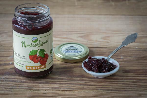 NordseeLiebe Sauerkirsche BIO-Fruchtaufstrich 250g