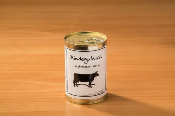 Rindergulasch in feinster Sauce 400g
