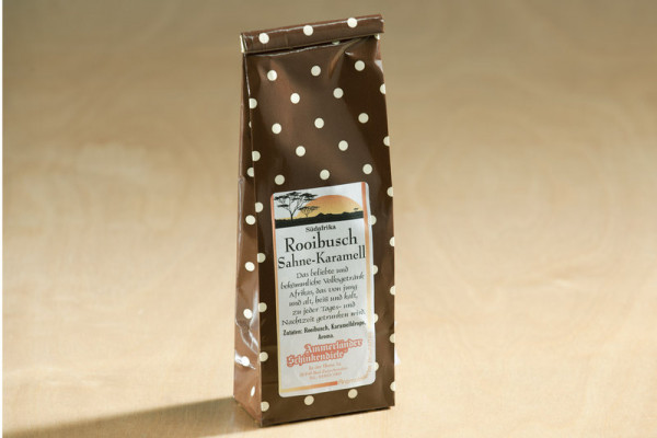 Rooibusch Tee Karamell-Sahne