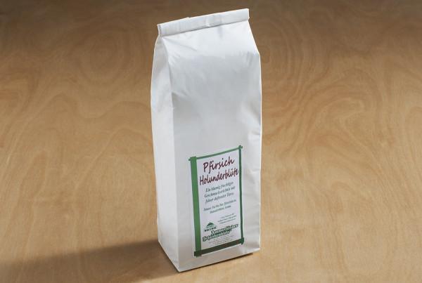 Pfirsich Holunderblüte Weißer Tee