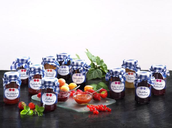Rumtopf 5-Frucht Konfitüre 280g Glas