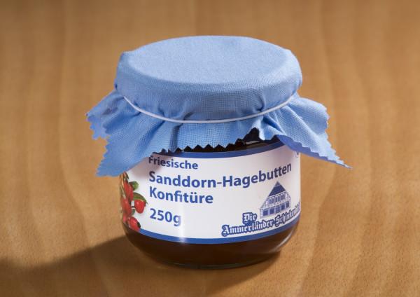 Friesische Sanddorn-Hagebutten Konfitüre 250g