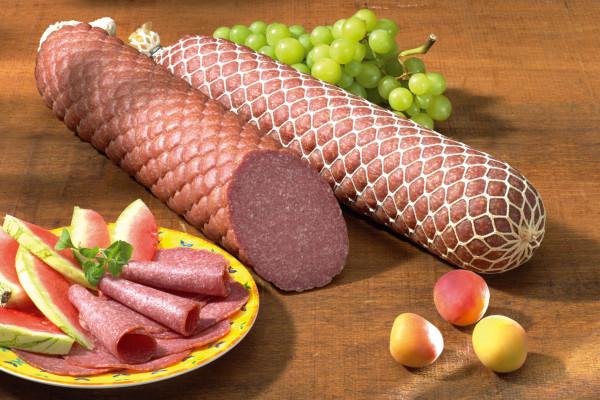 Echte Salami nach Mailänder Art | halbes Stück ca. 1000g