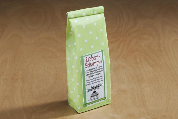 Erdbeer-Schampus Tee,aromatisierter Grüntee