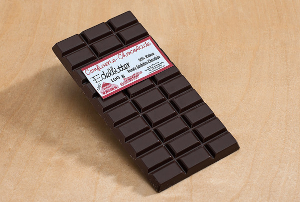 Zartbitter-Schokolade 100g Packung