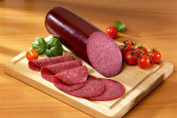 Feine Rindersalami - nur 15 % Fett | ca. 550g
