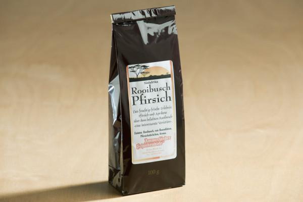 Rooibusch Pfirsich Tee