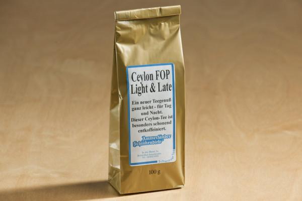 Ceylon OP - entkoffeinierter Schwarztee