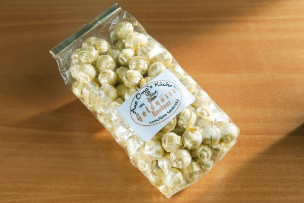 Goldnüsse-Bonbons