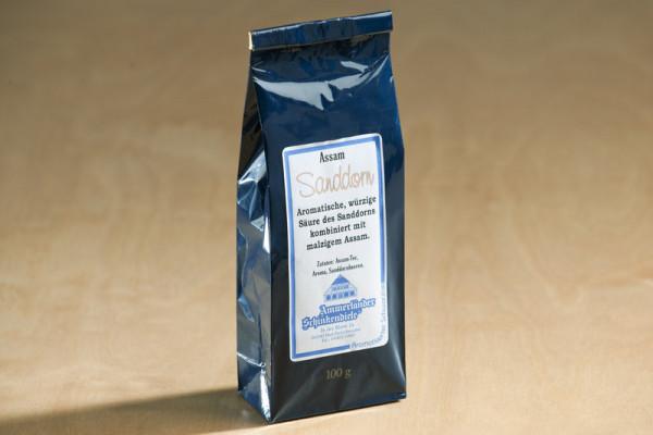 Schwarzer Sanddorn Tee