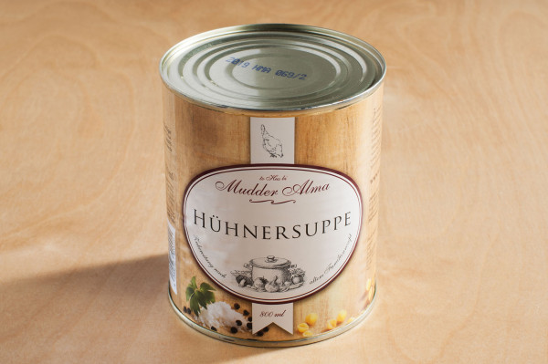 "Hühnersuppe ""Mudder-Alma"""