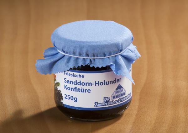 Friesische Sanddorn-Holunder Konfitüre 250g