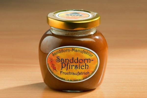 Sanddorn-Pfirsich Konfitüre 225g Glas