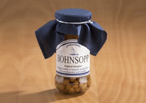 Original Bohnsopp mit Jamaica-Rum