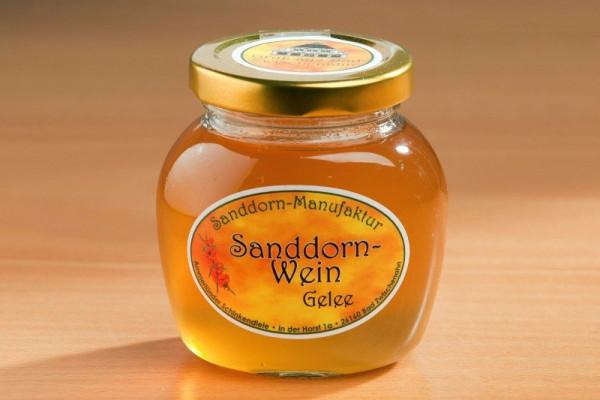 Sanddorn-Wein-Gelee 225g Glas